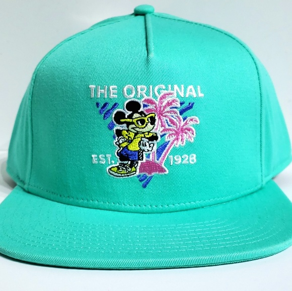 aabe63b2 Vans Accessories   X Disney Mickey Mouse 90th Birthday Teal Hat ...